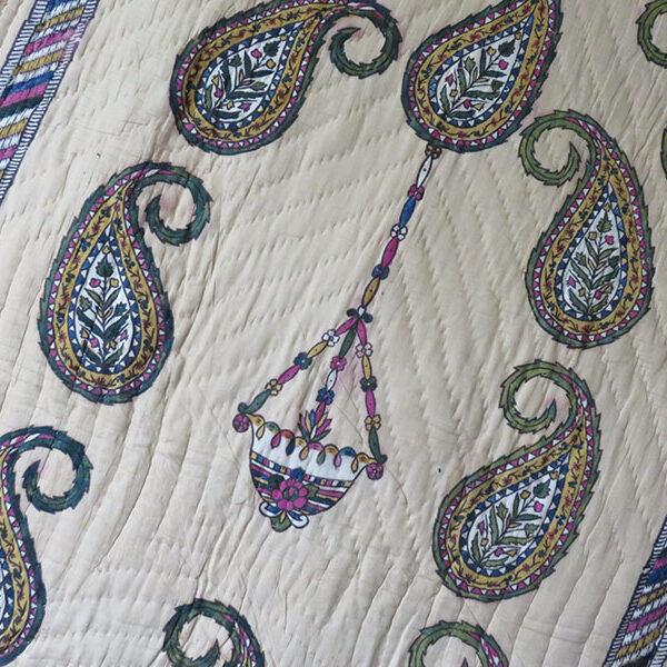 Anatolia – Istanbul Kandilli block printed prayer mat