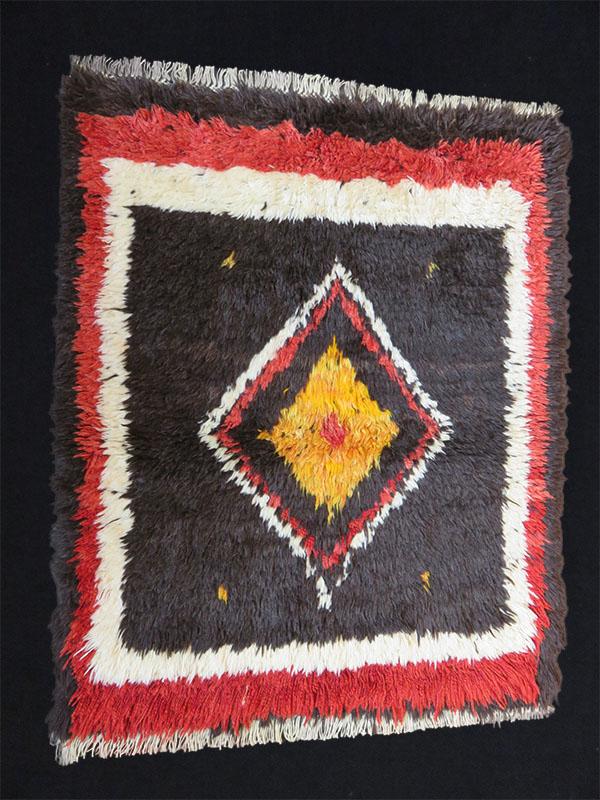 Anatolian - Konya tribal all wool Tulu rug - Yatak rug