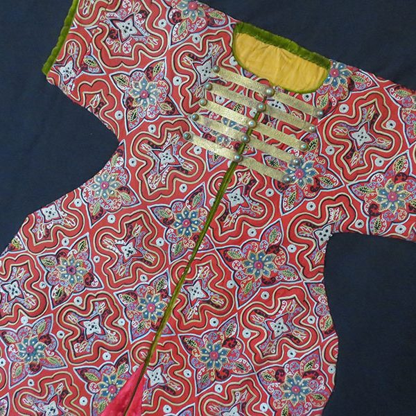 Anatolia - silk embroidery imperial child coat (kafthan) front