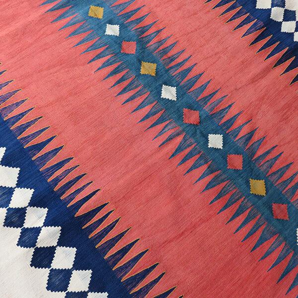 "Anatolian - Konya Turkmen kilim - flat weave ""sofra"" eating mat"