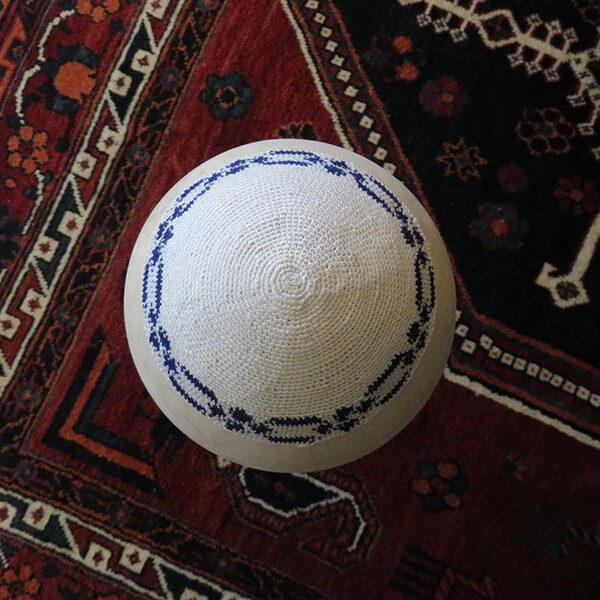Turkey – Istanbul hand crochet Jewish Yamaka – kippah