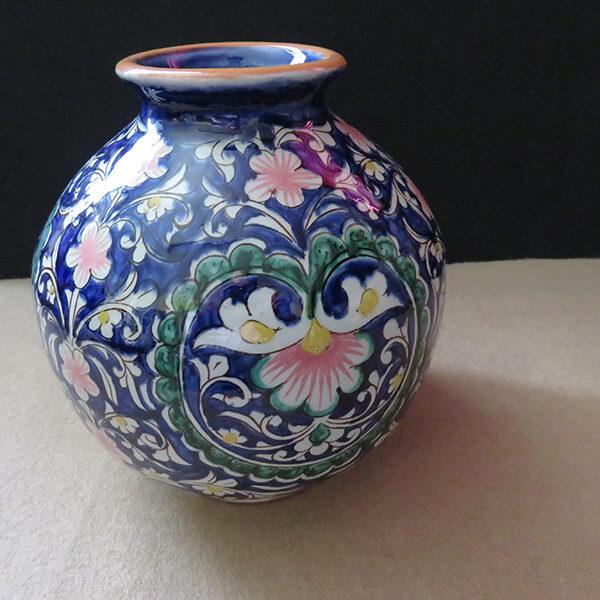 Uzbekistan - Fargana Valley, Rishtan clay ceramic vase