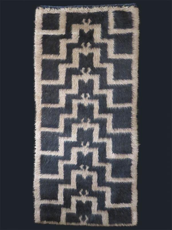 Anatolian - Konya - Karapinar Turkmen tribal Tulu long pile rug