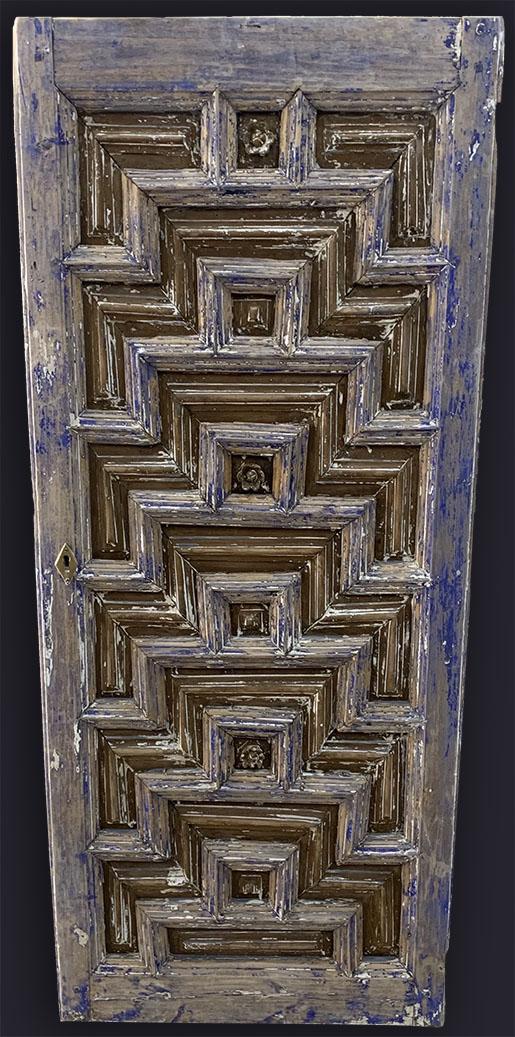 KONYA wooden door Step prayer design