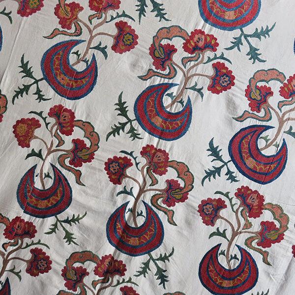 Uzbekistan - Tashkent ethnic silk embroidery Suzani
