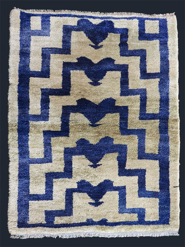 Anatolian - Konya Karapinar - Taurus mountains Turkmen all wool tribal rug