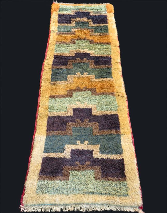 Anatolia - Konya Karapinar - Turkmen tribal all wool rug from Taurus mountains
