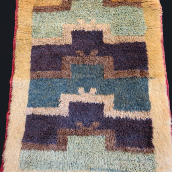 Anatolia - Konya Karapinar - Turkmen tribal all wool rug from Taurus mountains