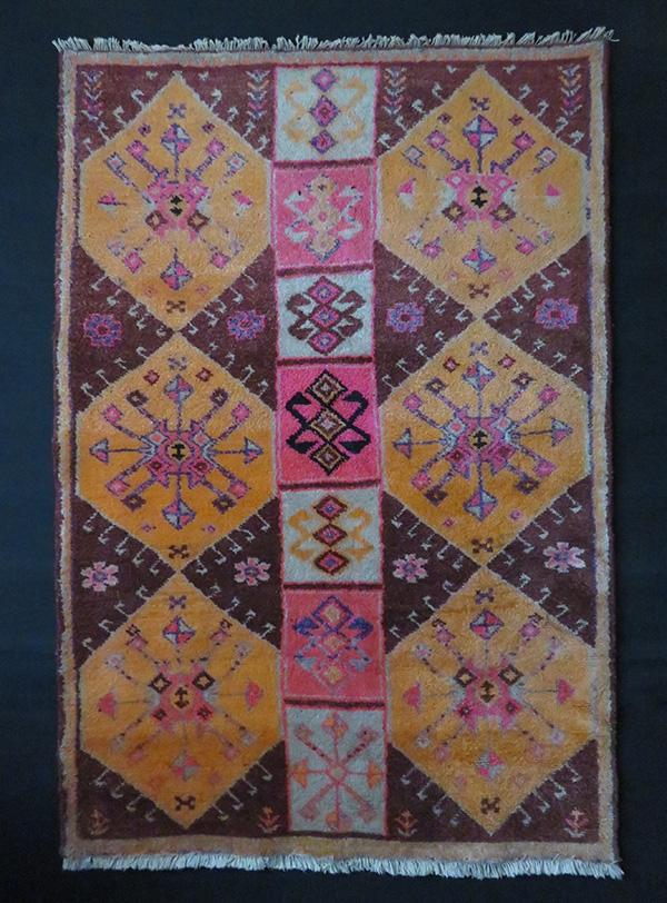 Northwest Persian Kurdish tribal rug