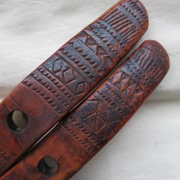 Anatolia - Konya Turkmen tribal wooden spindle