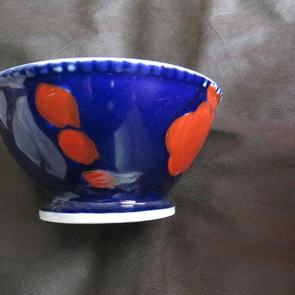 Uzbekistan - Russian Vintage porcelain soup bowl