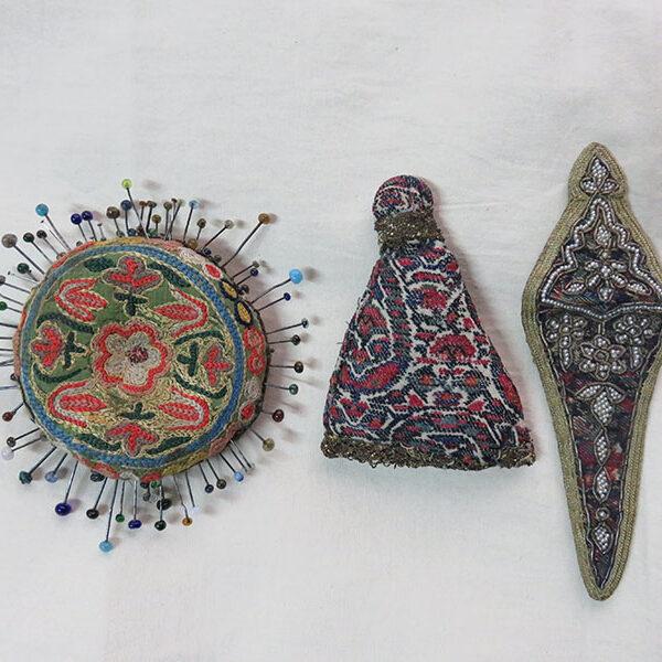 PERSIA Esfahan antique sewing set