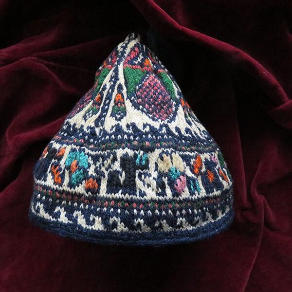 Persia - Kurdistan - Bijar Kurdish tribal conical child hat