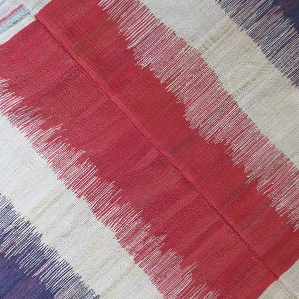 Mazenderan Tribal two pieces woven all wool kilim