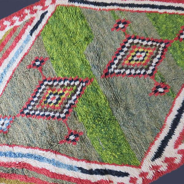 Persia - Qashkai - Gabbeh thick pile all wool nomadic ethnic rug