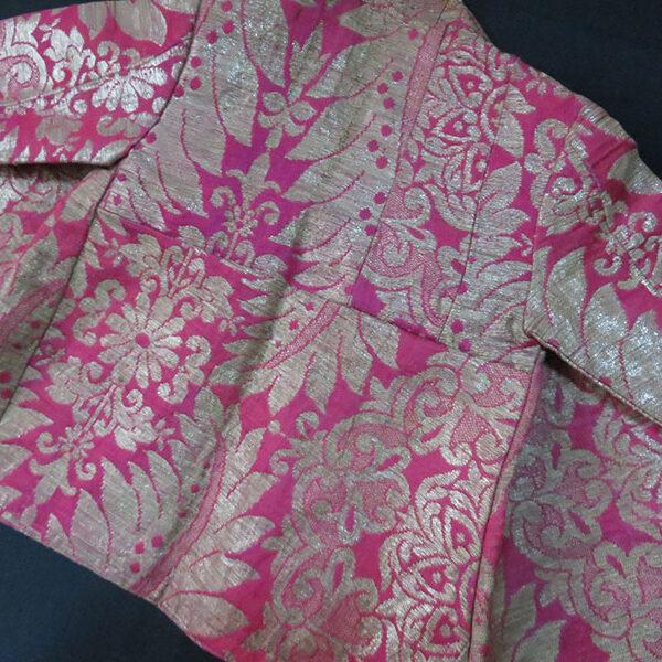 Uzbekistan - Bokhara child's ceremonial silk brocade jacket