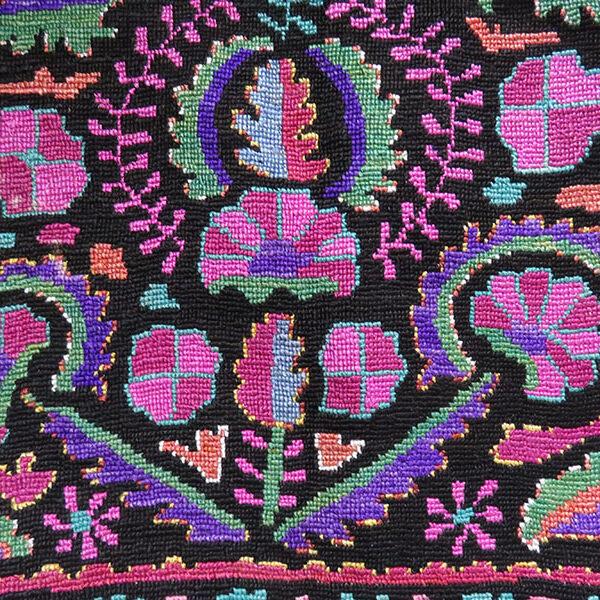 Uzbekistan - SHAHRISABZ Silk embroidered vest