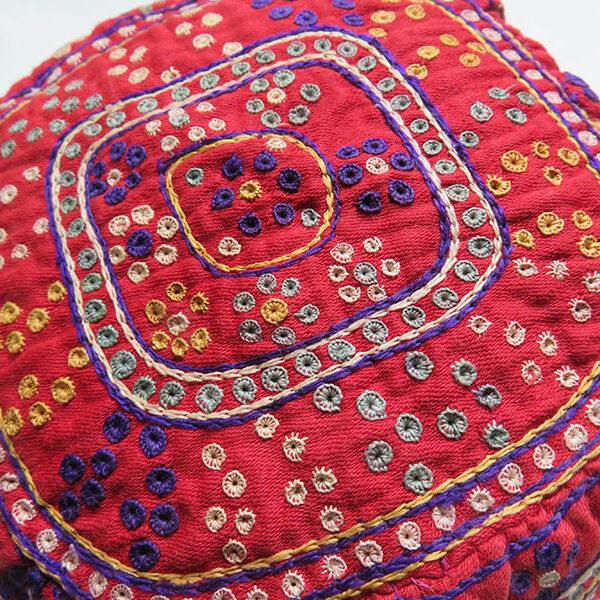 Iran Khorasan - Turkmen tribal silk embroidered hat
