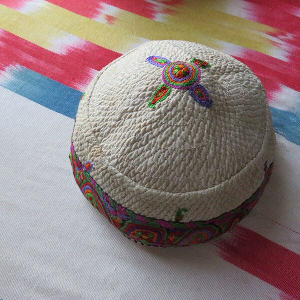 Iran – Azerbaijan, Shahsavan tribal woman's headwear