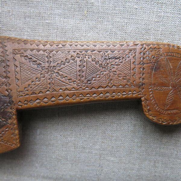 Anatolian Turkmen - Asia Minor - Bergama - Kozak turkmen - animal and tent band weaving – carpana knife/comb