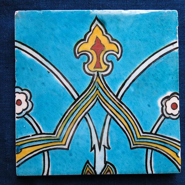 Anatolian – Kutahya Classical Ottoman design square ceramic