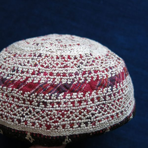 AZERBAIJAN – ARAKHCHYN – Ordubad Village Silk embroidered tribal hat