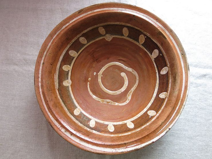 Turkey - Anatolia - Gallipoli - Canakkale traditional clay ceramic plate