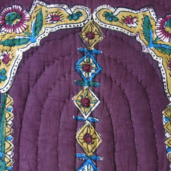 East Anatolia - Turkey TOKAT hand block printed and quilted prayer hanging