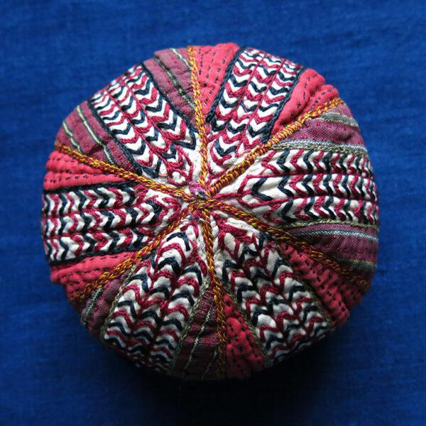 Turkmenistan - Tekke tribal silk embroidered hat