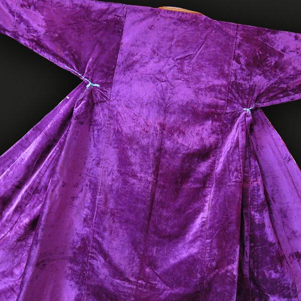 Uzbekistan BOKHARA - Traditional Velvet woman's Chapan / Robe