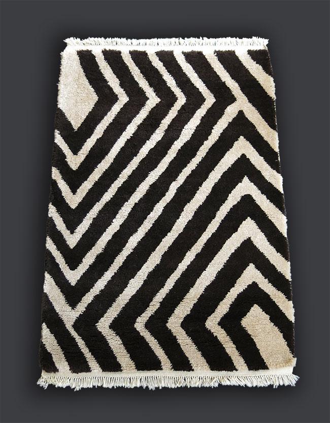 Anatolian KONYA Taurus mountains Turkmen tribal all undyed wool woven rug