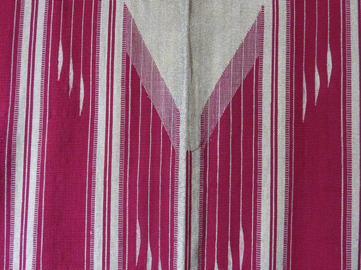 SYRIAN ALEPPO Silk and metallic thread woven ceremonial coat