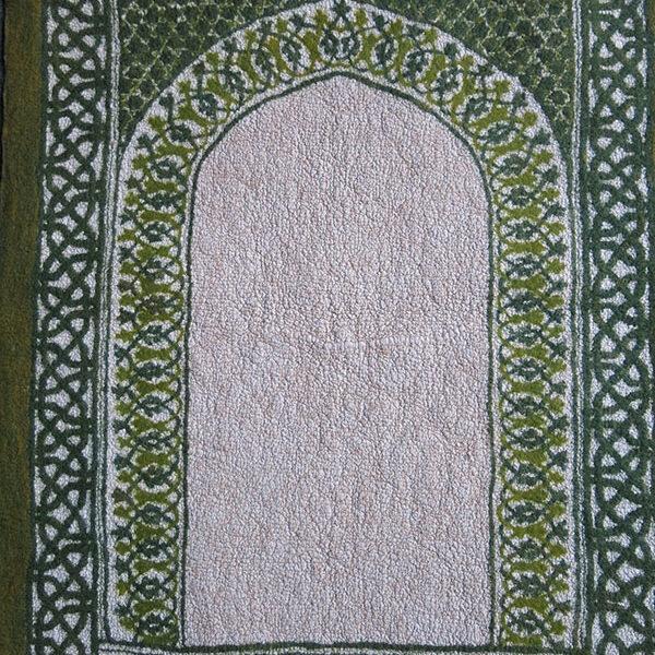ANATOLIAN - KONYA IKONIUM studio felt and cotton fabric prayer mat