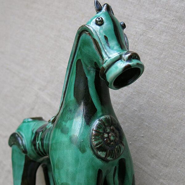 ANATOLIA – CANAKKALE DARDANEL Trojan horse shaped clay ceramic