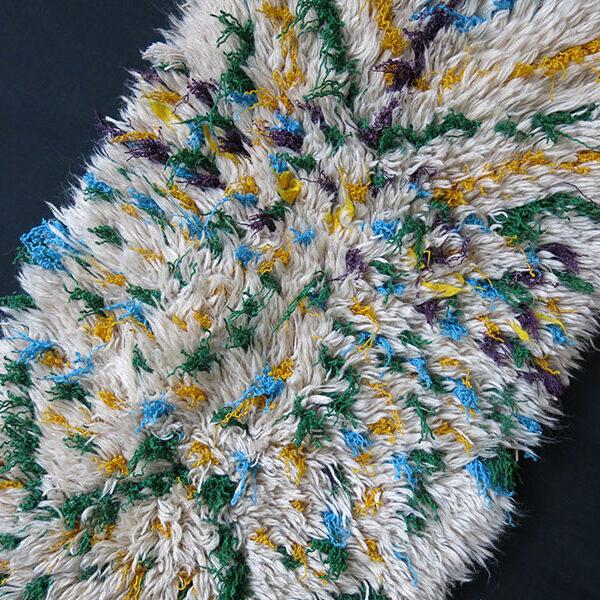 ANATOLIAN - AFYON Tribal All wool Shaggy / tulu rug