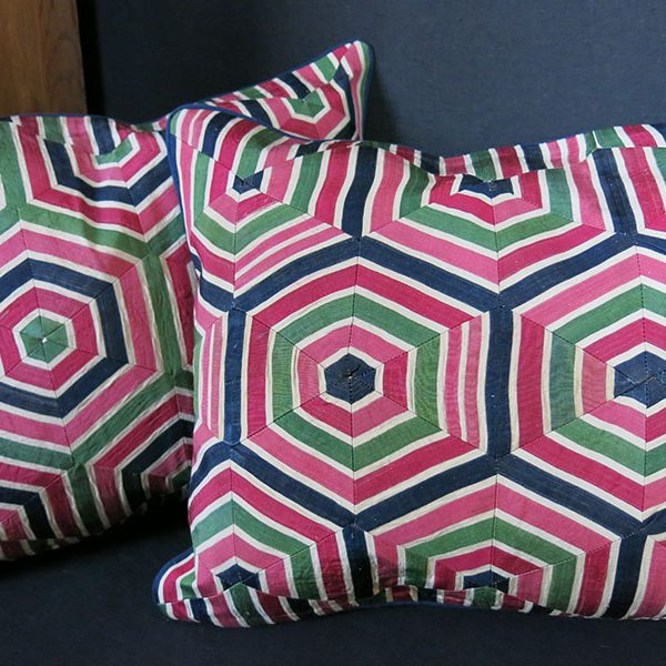 ANATOLIAN – pair of Silk Ikat PILLOW COVERS