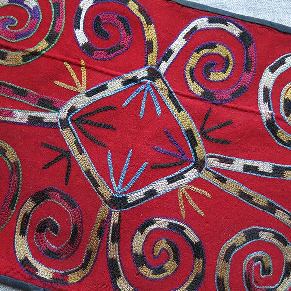 UZBEKISTAN SHAHRISABZ Lakai silk embroidery hanging