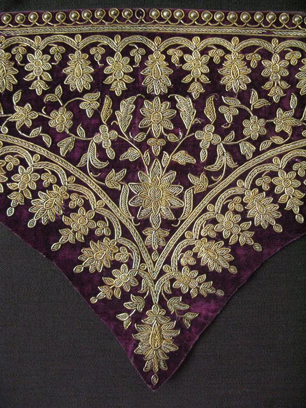 PERSIA - QAJAR Dynasty - Imperial ceremonial dress cuffs