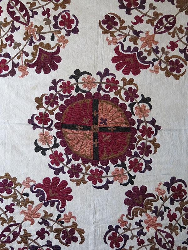 TAJIKISTAN - Gorno - Badakhshan KIRGIZ - Tribal Silk Embroidery Bokhca