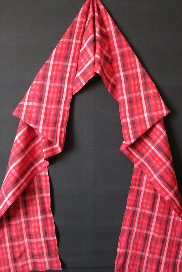 TURKMENSAHRA - YOMUD Goklan ceremonial Groom's silk hand woven belt