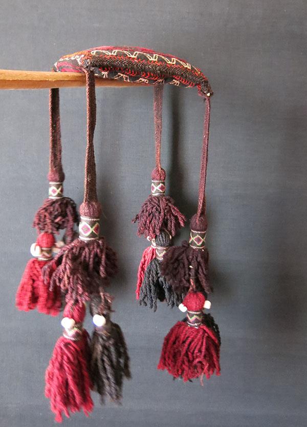 BALUCHISTAN - Tribal Tent ceiling kilim hanging decoration