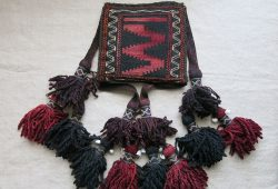 BALUCHISTAN - Tribal Tent ceiling kilim hanging decoration
