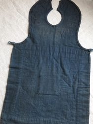 CHINESE pieced with cotton minority child's apron