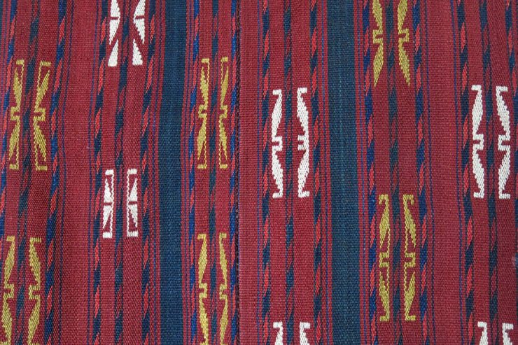 TURKMENISTAN - Yomud tribal tent band Kilim