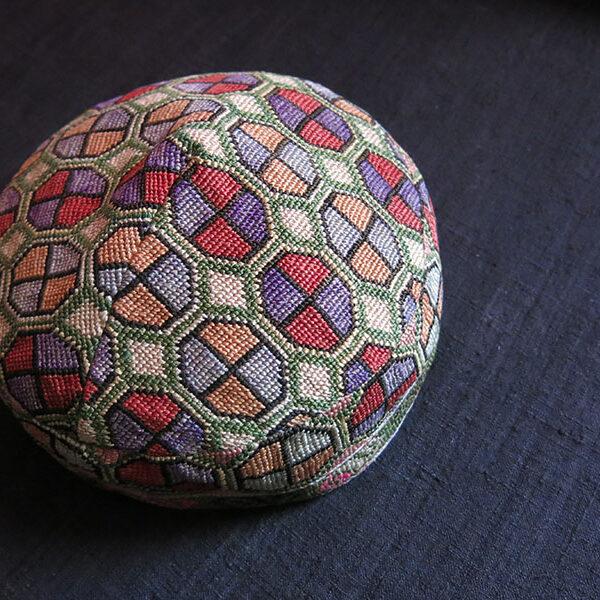 UZBEKISTAN SHEHRISABZ - LAKAI tribal silk hat