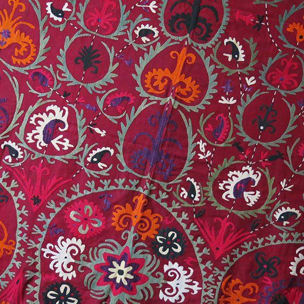 TAJIKISTAN LAKAI tribal ceremonial silk horse cover