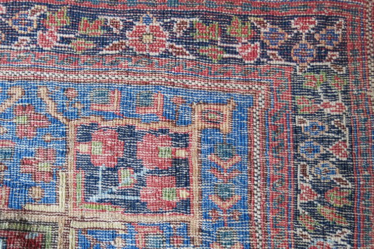 IRAN - AFSHAR tribal small wall hanging rug