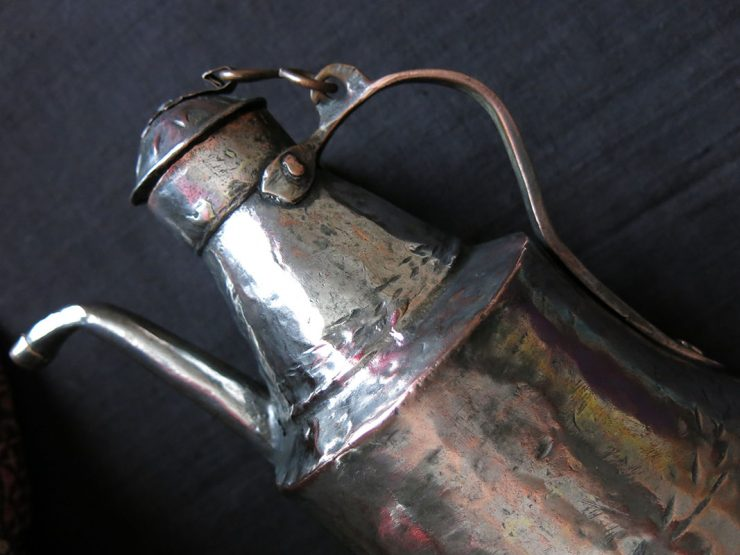 CENTRAL ANATOLIA - KAYSERI Hand forged child copper water