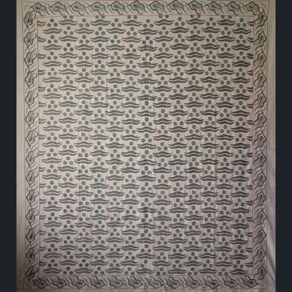 UZBEKISTAN FARGANA Valley, silk embroidery Suzani