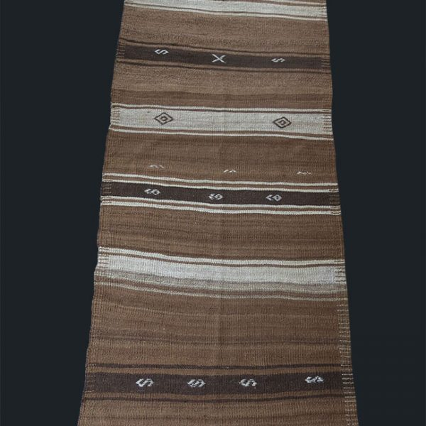 ANATOLIA - Eastern Turkey Lake Van Kurdish all natural undyed wool kilim
